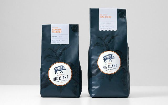 Big Island Coffee Roasters on Packaging of the World - Creative Package Design Gallery