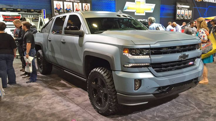 2016 chevrolet silverado special ops concept front adrenaline capsules pinterest chevrolet. Black Bedroom Furniture Sets. Home Design Ideas