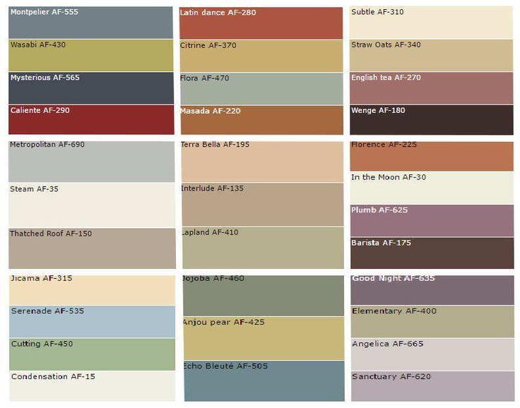 Benjamin Moore Wall Color Combination Ideas