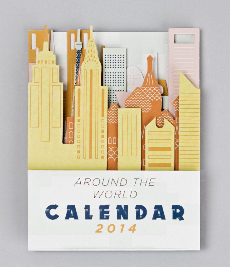Around the world calendar