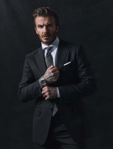 David Beckham Menjadi Brand Ambassador Jam Tangan Tudor