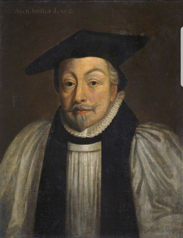 William Laud (1573-1645). Ordained in 1601 He became Chaplain to James 1st in 1611 before being Arch Deacon of Huntingdon in 1615. He was Bishop of St David's, Bath & Wells and London before becoming Archbishop of Canterbury in 1633.