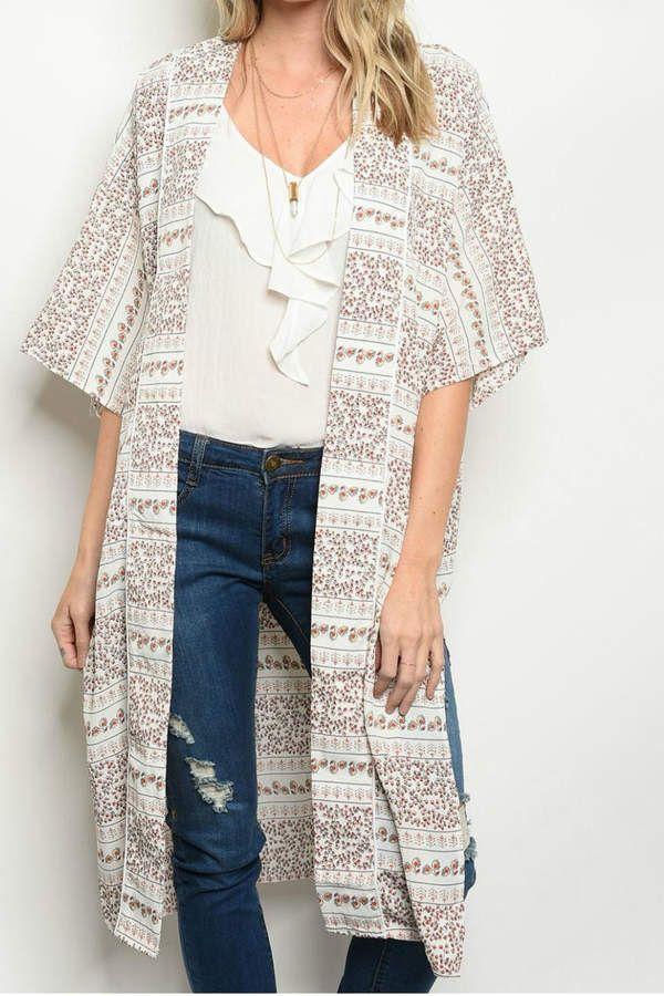 95e9872c1b9 Solaris Style Detailed Kimono