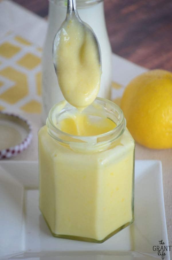 Delicious lemon cream that is perfect on pancakes, toast, waffles or anything!
