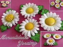 Resultado de imagen de flores de goma eva