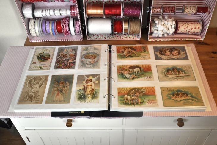 Wings of Whimsy: The Vintage Sewing Room - DIY Album