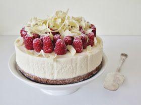 Zoet & Verleidelijk: Witte chocolade mascarpone-kwarktaart met frambozen