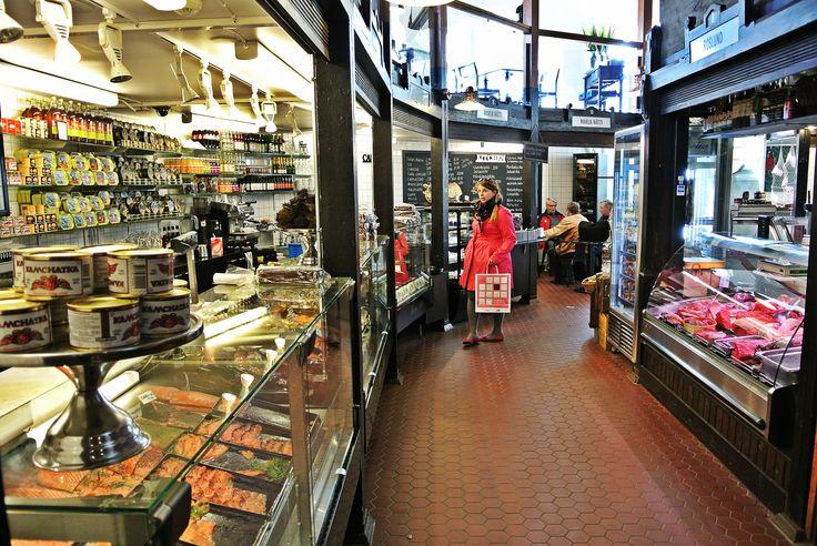 Hietalahti market hall interior  #food tour #Helsinki #Finnish food #Scandinavia