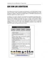 ludotecas, definicion y caracteristicas