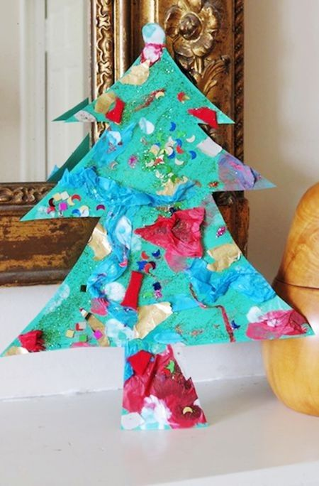 Christmas Craft Ideas 2013 Part - 27: 2013 Beautiful Paper Christmas Tree Crafts, Paper Christmas Tree Crafts For 2013  Christmas #2013