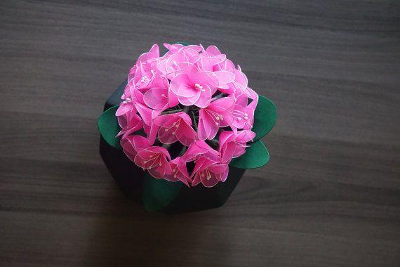 Pink Handmade Flower Bouquet