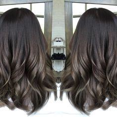 A smooth ombre color design in healthy, glossy ash tones. www.number76.com