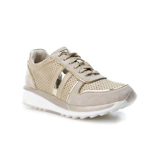 3177db2b3f XTI Γυναικεία Sneakers B3D Χρυσά  xti  xti shoes  xti eshop  xti greece   xti outlet