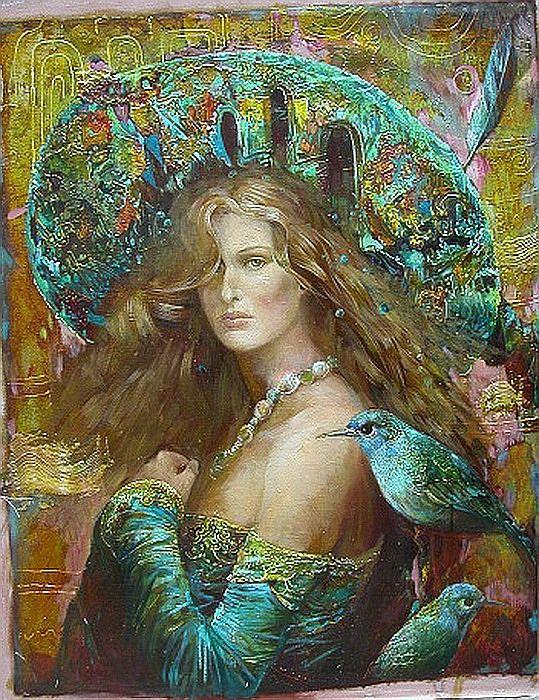 """Il mondo di Mary Antony: Le """"architetture pittoriche"""" di Sergey ..."""