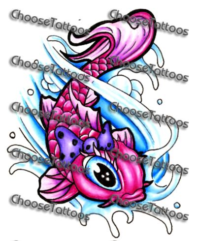 If I was to get a,coy fish tattoo...this would be it