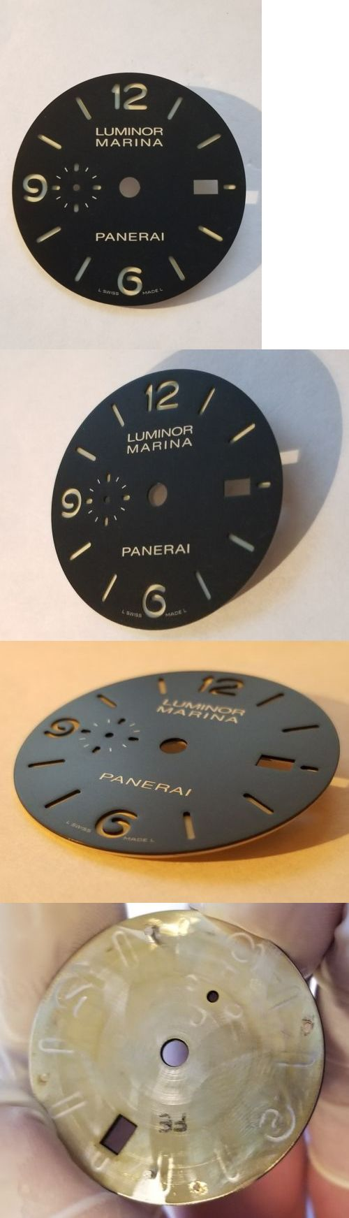 Other Watch Parts 10324: Genuine Panerai 312 1950 Luminor Sandwich Dial -> BUY IT NOW ONLY: $459 on eBay!