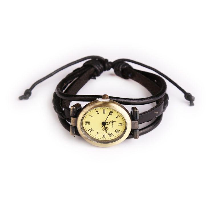 New Style Women Wristwatch Quartz Watch Hand Strap Cow Long Leather Vintage Female Roma Women Dress Watch Oval Black Reloj Mujie-in Women's Watches from Watches on Aliexpress.com   Alibaba Group