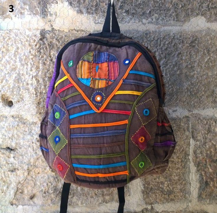 KARGO BİZDEN Çok Tarz Bohem Sırt Çantası , Okul çantası Keten Çanta, Nepal Çanta , Etnik Çanta - 06 Zet.com'da 59 TL