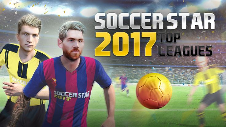 Soccer Star 2017 Top Leagues v0.3.7 [Mod]Requirements: 4.1 and upOverview: It's the last match of the League and you are in a drawn. It's your turn to choose the destiny of your soccer team. Fit your boots, run for the ball, make a powerful kick and… GOAL! Will you triumph as a soccer player...
