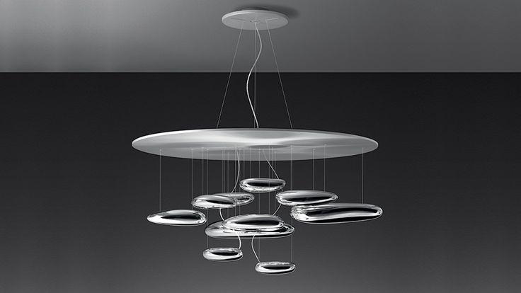 Mercury LED suspension lamp by Artemide