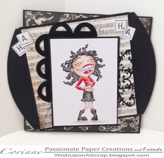 Passionate Paper Creations: Bloobel, Giggles