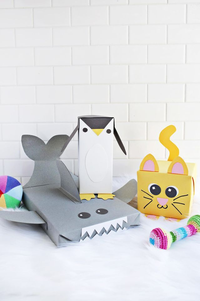 Cute Animal Wrapping Paper Ideas!
