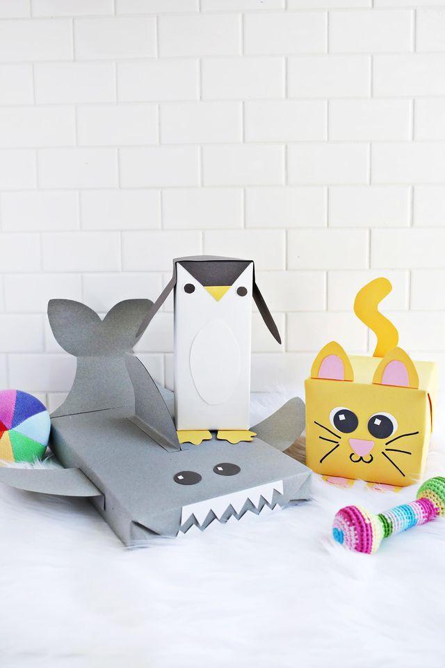 Cute Animal Wrapping Paper Ideas! (A Beautiful Mess) – kati1186