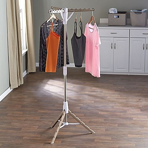 Household Essentials® Tripod Clothes Dryer in Tan