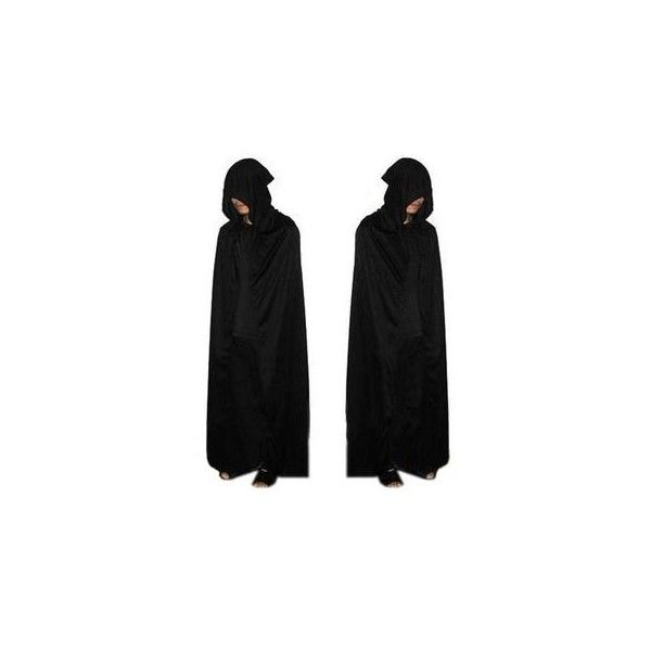 Halloween Party Costume Cape (29 CAD) ❤ liked on Polyvore featuring costumes, outerwear, women, ladies halloween costumes, womens halloween costumes, womens costumes, party costumes and ladies costumes