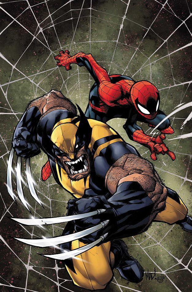 Wolverine & Spider-Man by Joe Madureira
