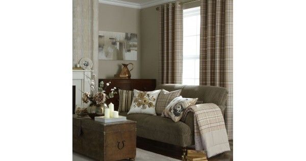 Add a tailored feel to your home with these cosy colour woven check eyelet curtains. The tartan pattern is a prominent design used throughout history and it can lend its timeless beauty to accent your room decor. Accessorise with other matching products to create an on trend look to your bedro