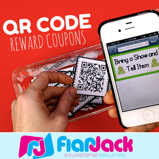 QR Code Reward Behavior Coupons FREEBIE - Are you looking for a fresh way to motivate your students to do their best for the remainder of the year? Well, have you tried QR code coupons? You should! They come in English and Spanish.