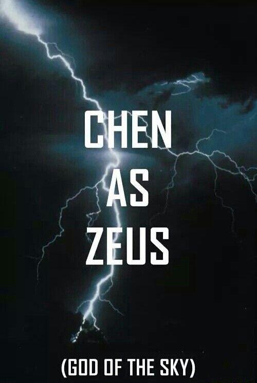 Exo as Greek Gods Chen