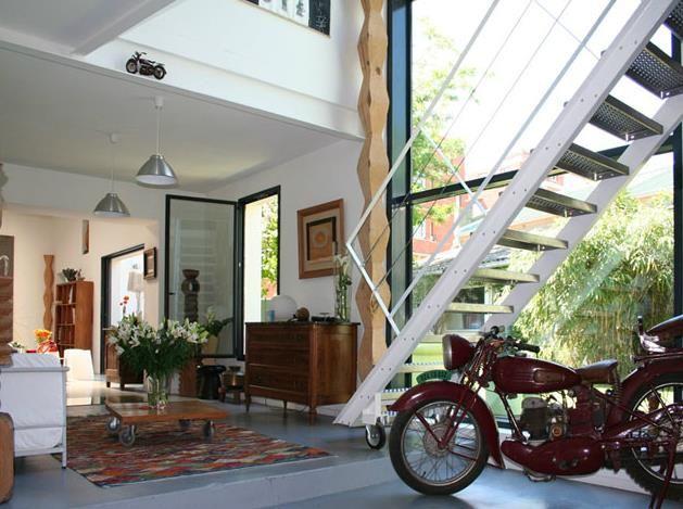 24 best images about projet loft on pinterest warehouse - Deco maison avec poutre ...