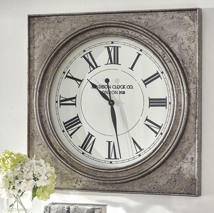 "Oversized Geraldo 32"" Wall Clock"