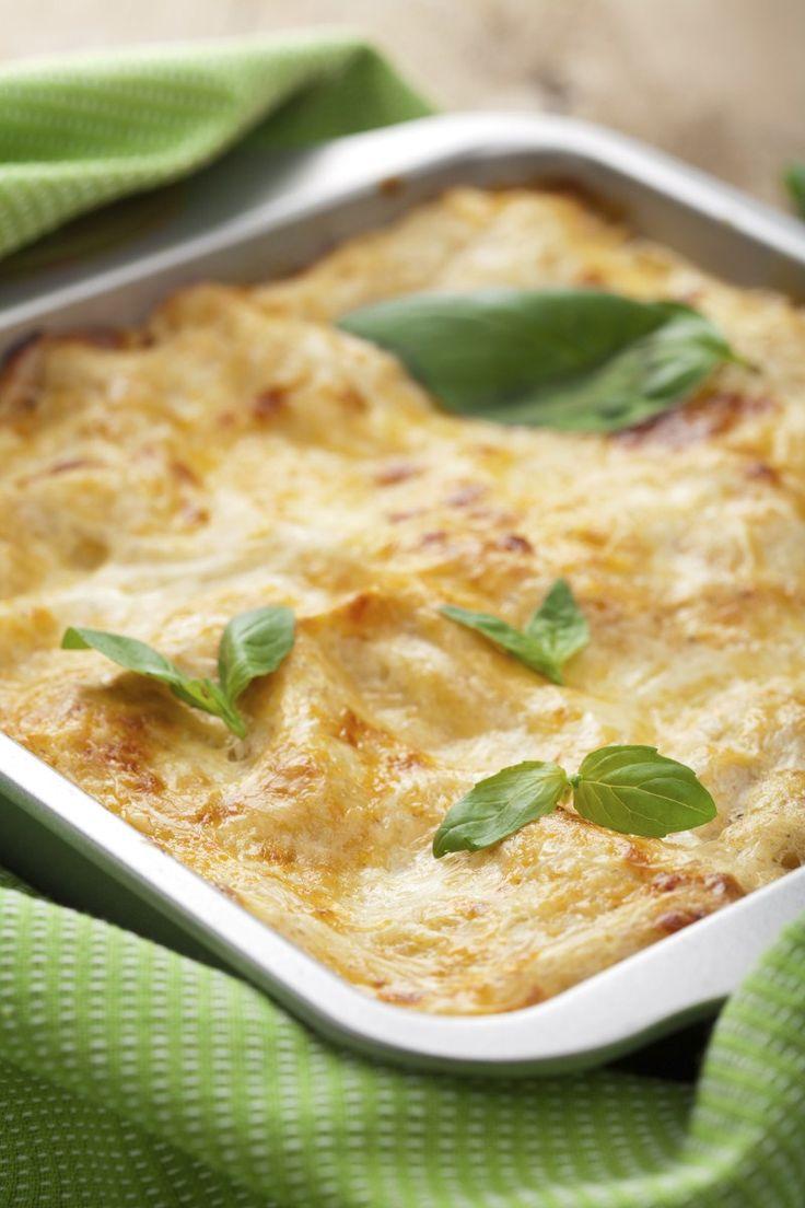 Lasagna con crema di parmigiano