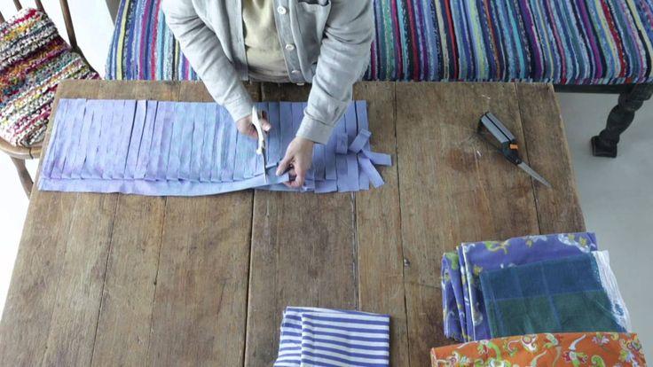 Rag Rug Strip Cutting | Matonkuteen leikkaaminen nopeasti - Kotiliesi.fi