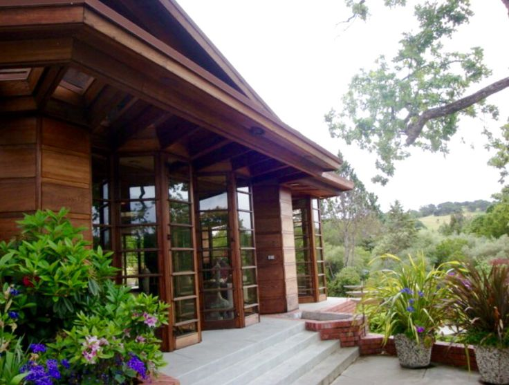 17 best images about hanna house frank lloyd wright on for Frank lloyd wright california