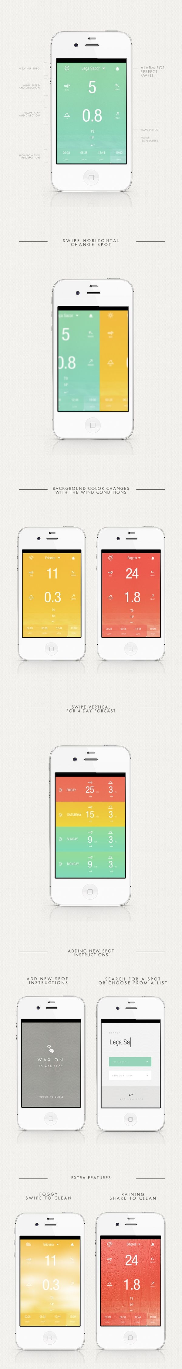 BREEZE by Luis Vaz, via Behance