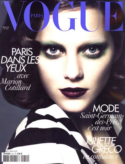 Marion Cotillard For Vogue Paris September 2010 Fashion Magazinesmake Upvogue