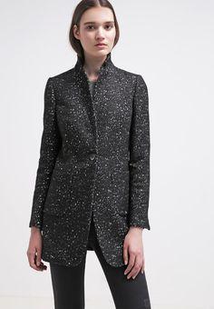 Image result for benetton grey speckled coat