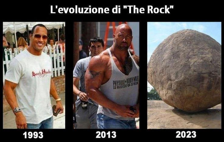 "L'evoluzione di ""The Rock"""