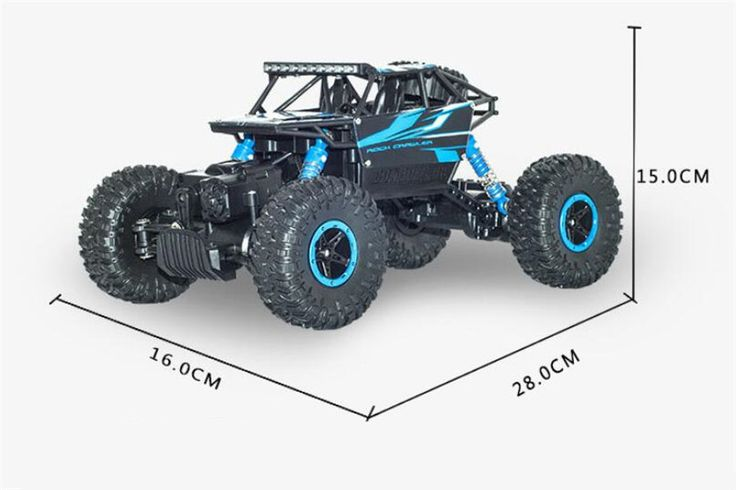 2.4HZ Racing RC Remote Control Cars Electric Rock Crawler Radio Control Cars Off Road Cars With Waterproof