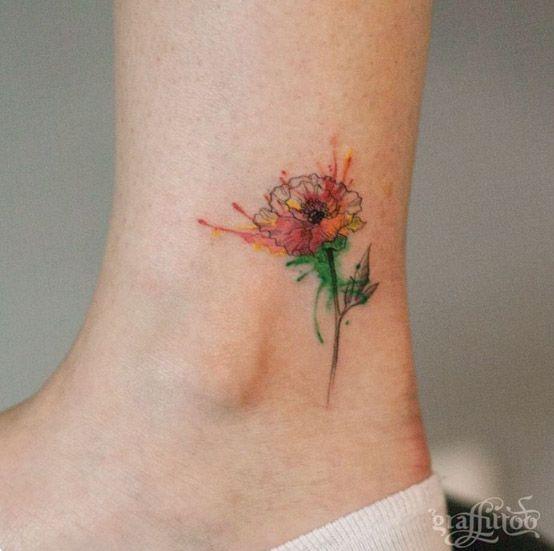 Best 20 watercolor poppy tattoo ideas on pinterest for Watercolor poppy tattoo