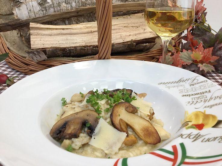 Originální Italské houbové rizito recept - Vařte s Majklem