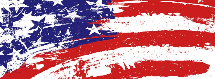 Independence Day – Grundge American Flag  Facebook Timeline Cover on http://www.covermytimeline.com