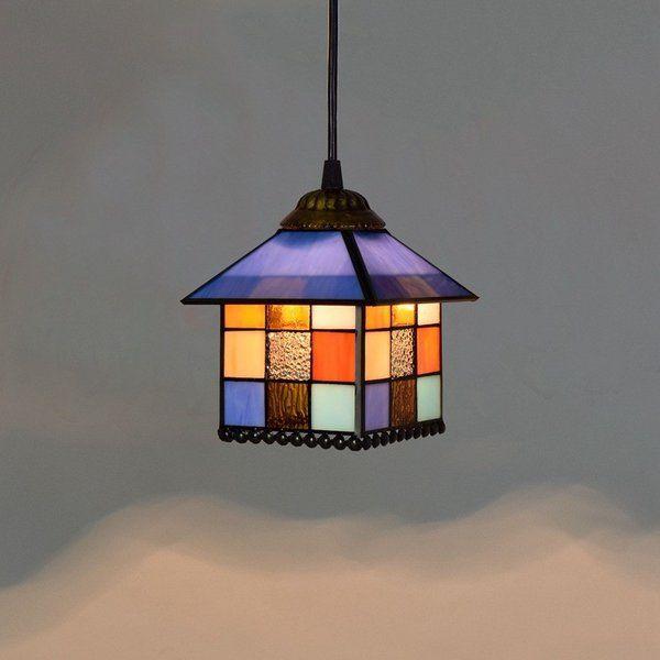 天井照明 アンティーク風 ペンダントライト 照明 器具 デザイン ガラス