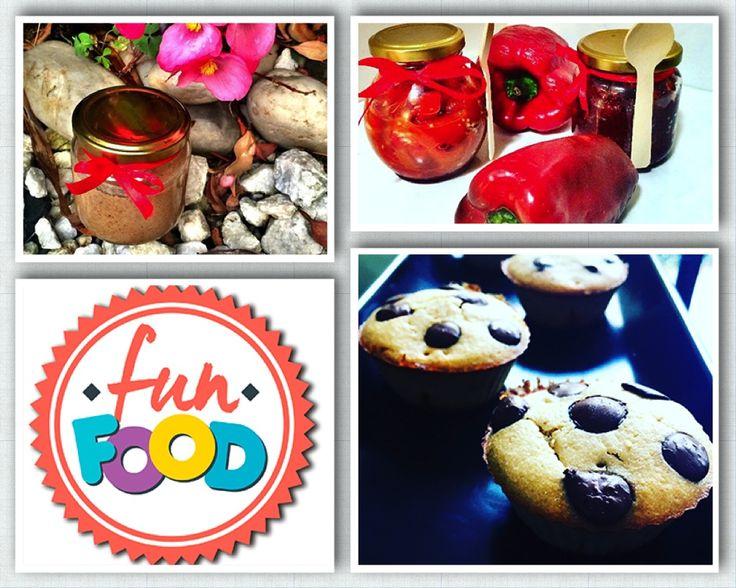 FUN FOOD, productos naturales sin conservantes, sin aditivos, sin gluten, sin trigo, sin azúcar añadidas, productos orgánicos, naturales y deliciosos.