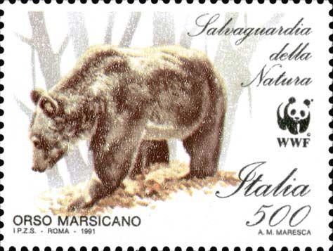"""1991 - """"Salvaguardia della natura"""": Orso Marsicano"""
