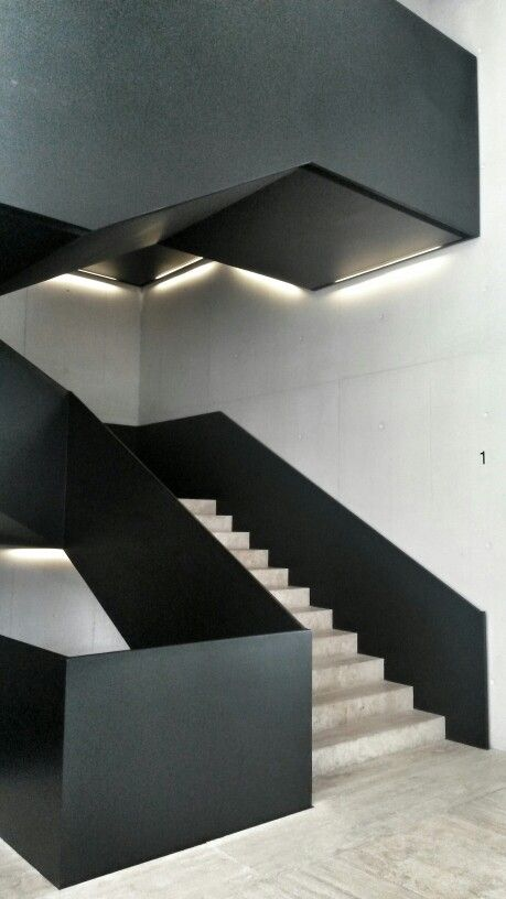 Stairs Museo Jumex by David Chipperfield